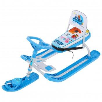 Снегокат тимка спорт 4-1 (тс4-1/мм1 ми-ми-мишки на голубом)
