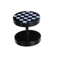 Тоннели , шахматная доска, цвет черный