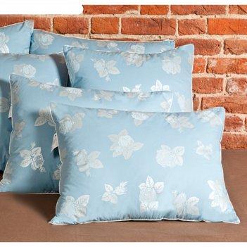 Подушка «аракса», размер 50 x 68 см, тик, голубой