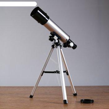 Телескоп настольный сувенирный натуралист сменные линзы 90х-60х