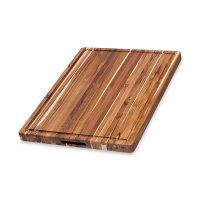 Доска разделочная, размер: 61 х 45,7 х 3,8 см, материал: дерево тик, серия