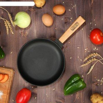 Сковорода чугунная оптима, brizoll, 20 х 3,5 см