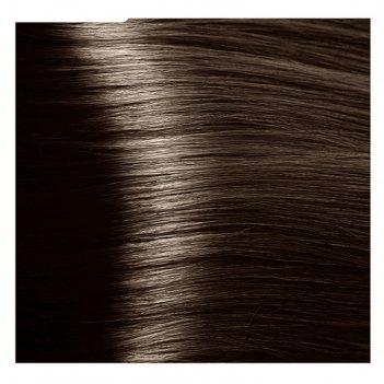 Крем-краска для волос kapous с гиалуроновой кислотой, 6.0 тёмный блондин,
