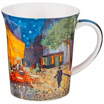 Кружка ночная терраса кафе (в. ван гог) 420 мл (кор=36шт.)