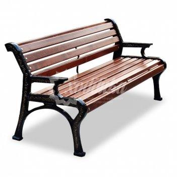 Скамейка чугунная «ретро стиль» 1,8 м