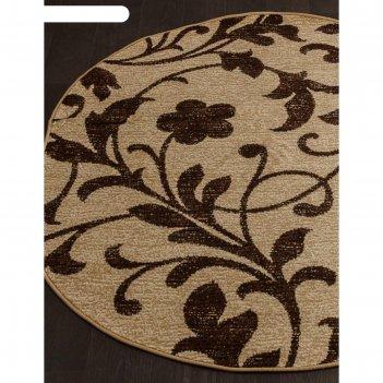 Овальный ковёр laguna d184, 180x350 см, цвет beige