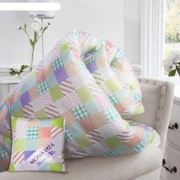 Одеяло lilac, размер 195х215 см, +саше с ароматом сирени, тик