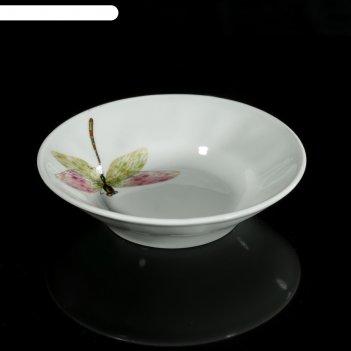 Блюдце «стрекоза» 105 мл, d=11 см