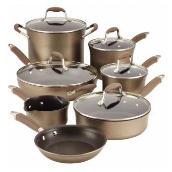 Набор кухонной посуды из 12 предметов эдванс
