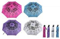 Зонт автомат мадам, цвета микс