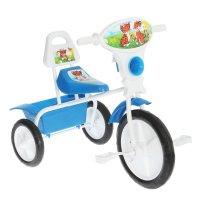 Велосипед трехколесный  малыш  06п, цвет: синий