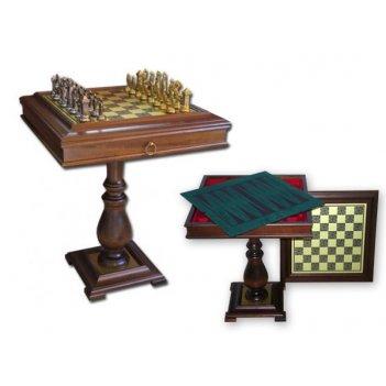 Стол шахматный с фигурами мария стюарт tav80+51m