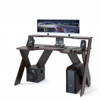 Компьютерный стол «кст-117», цвет венге