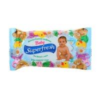Влажная салфетка superfresh детская, 15 шт