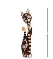 99-140 статуэтка кошка 50см (албезия, о.бали)