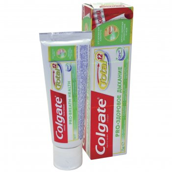 Зубная паста colgate total 12 pro «здоровое дыхание», 75 мл
