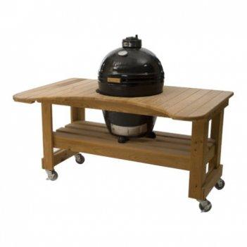 Гриль primo round large со столом из лиственницы