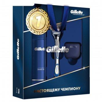 Подарочный набор gillette fusion: 3 предмета