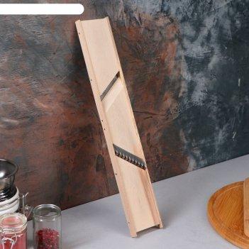 Терка для корейской морковки и картофеля фри, 2 в 1, нержавеющая сталь, ма