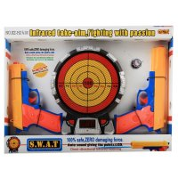 Игровой набор тир, с 2 пистолетами, световые и звуковые эффекты