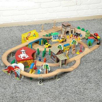 Железная дорога, 138 элементов