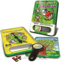 Магнитная игра mack&zack джунгли