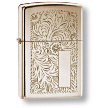 Зажигалка zippo high polish chrome, латунь с никеле-хромовым