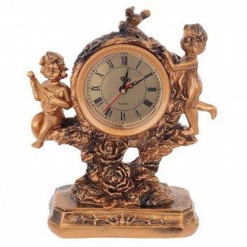 Часы настольные декоративные ангелы, l20 w9 h25 см, (1хаа не прилаг.)