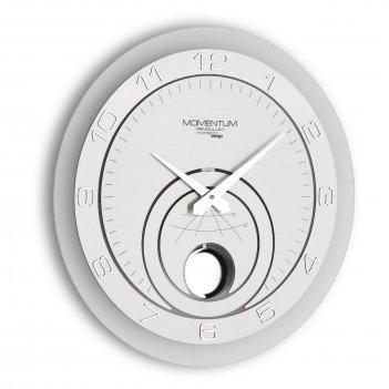 Настенные дизайнерские часы  momentum pendulum с маятником