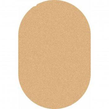 Овальный ковёр shaggy ultra s600, 100x300 см, цвет beige-d.beige