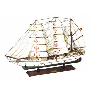 Модель парусного корабля сагрес 74*50см