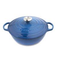 Казан la marmite, объем: 4 л, диаметр: 26 см, материал: чугун, цвет: синий