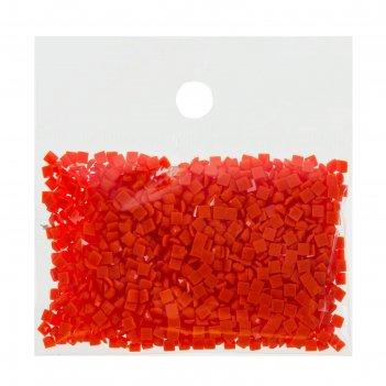 Стразы для алмазной вышивки, 10 гр, не клеевые, квадратные 2,5*2,5мм 946 o