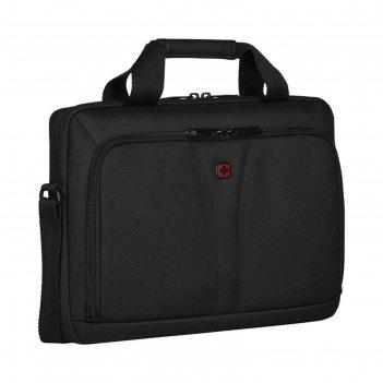 Сумка для ноутбука wenger 14, чёрная, 35x6x26 см, 5 л