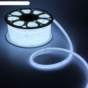 Гибкий неон круглый d 16 мм, 25 метров, led-120-smd2835, 220 v, белый