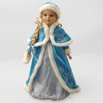 Кукла фарфоровая снегурочка