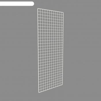 Сетка торговая 40*150, окантовка 8мм, пруток - 4мм, цвет белый