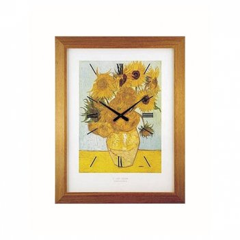 Настенные часы lowell 11136