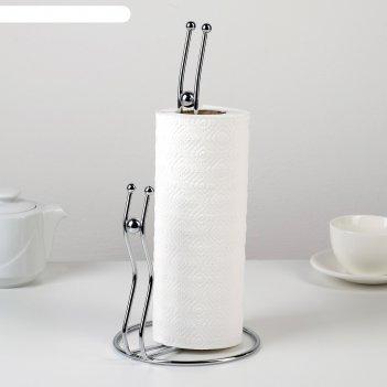 Подставка под бумажные полотенца «жемчуг», 14x15x30 см