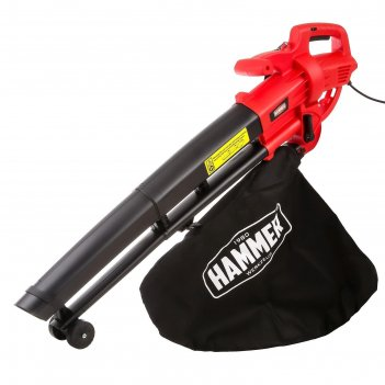Воздуходувка электрическая hammer vzd2000p, 2000 вт, 14000 об/мин, 75 м/с,
