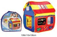 Палатка игровая веселая школа, сумка