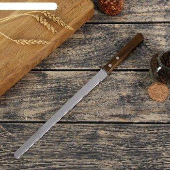 Нож для бисквита 22 см