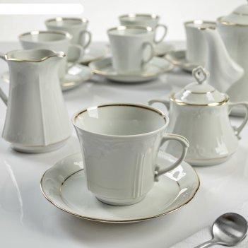 Сервиз кофейный камелия, 15 предметов