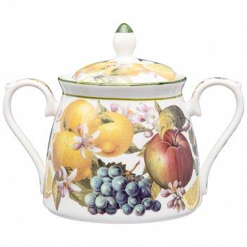 Сахарница lefard фрукты 420 мл