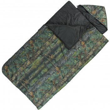 Спальный мешок богатырь кмф, 2-х слойный