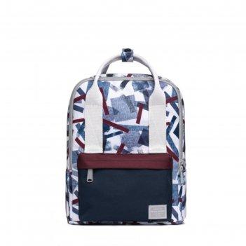 Рюкзак mah mr19c1813b01 серый/белый/темно-синий, 10