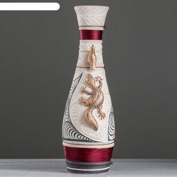 Ваза напольная форма афина шамот