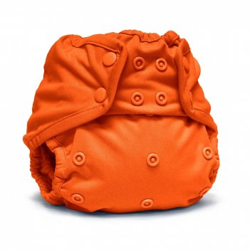 Подгузник для плавания one size snap cover kanga care poppy