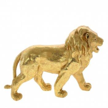 Фигурка декоративная лев, l19 w6 h14 см
