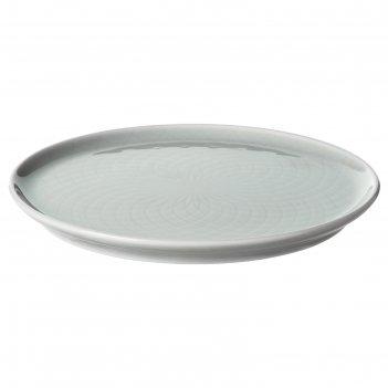 Тарелка десертная крустад, 16 см, светло-серый